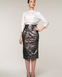Vintage Womens Elegant SKIRT INNA SNAKESKIN Fashion