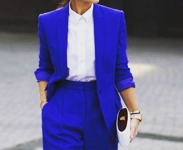 History of Style. Colour does matter: blue