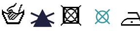 Blouse CIARA (Chamomile print design) care instructions vintadefinita
